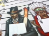 Étien' : fresques murales, tableaux et illustrations