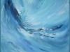 Sabine VUK alias Couleurs d'eau - Vagues bleues