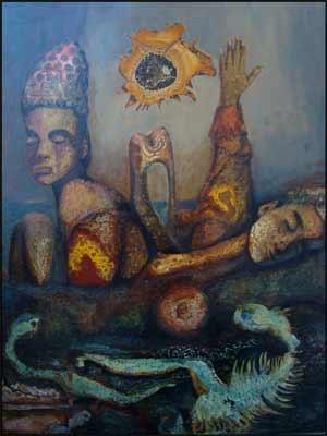 Patrice Dechavanne - Peinture surréaliste