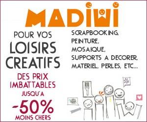 Madiwi - Magasin en ligne de loisirs créatifs