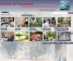 Maison de l'aquarelle et du dessin de Reims - Thierry Légume
