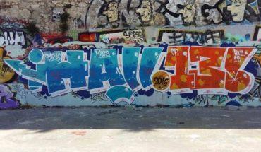Hall 13 - toiles de graffeurs et skates